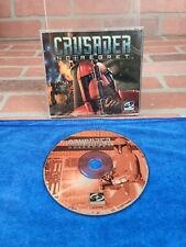 Crusader No Regret PC TESTED VERY NICE VERY FUN CLASSIC no cover