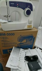 Brother Sewing Machine BM-3500 Used But in VGC (( Post or Collection.))