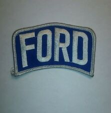 Brand new FORD iron on embroidery jacket t shirt logo NOS