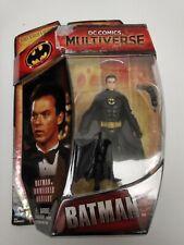 "DC Comics Multiverse 1989 Batman Michael Keaton 3.75"" Figure Unmasked Variant"