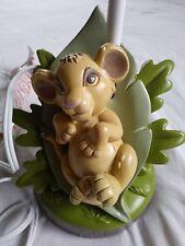 *Nice* Disney 'The Lion King' Baby Simba Lamp Base (No Shade) Works