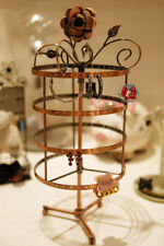 EARRING JEWELRY DISPLAY ROTATING HOLDER STAND RACK