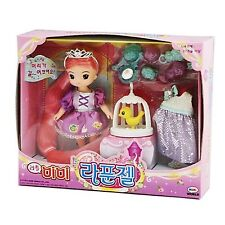 Little MIMI Rapunzel Barbie Doll Role Play Korea character Animation toy Girl