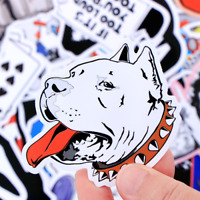 50 Retrosticker Stickerbomb Cartoon Dog Hund Aufkleber Sticker Mix Decals