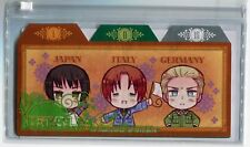 clear plastic pouch bag Hetalia Axis Powers anime Germany Italy Japan