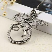 Targaryen Dragon Necklace Pendant Game Thrones House Daenerys Fashion FREE SHIP