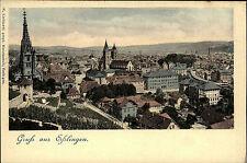 ESSLINGEN Neckar ~1900 Gesamtansicht Totale alte Postkarte AK Verlag Liebhardt