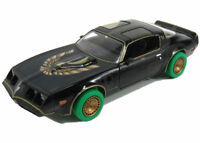 GREENLIGHT SMOKEY AND THE BANDIT 1980 PONTIAC ,1.24 SCALE-GREEN TYRES VARIATION