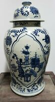Old Chinese Blue&White  Porcelain Ginger Jar