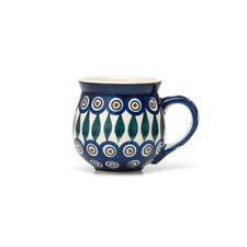 Bunzlauer Keramik Kugelbecher 200 ml Dekor 54