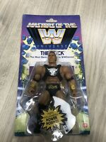 Masters of the WWE Universe The Rock Figure Walmart Exclusive New MOTU