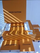 Louis Vuitton Lot Of Empty Boxes Ribbon Dust Covers Ect