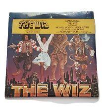 The Wiz Original Motion Picture Soundtrack 2 LP SEALED Vinyl 1978 MINT CONDITION