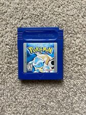 Pokemon: Blue Version (Nintendo Game Boy, 1999) GBA Gameboy advance