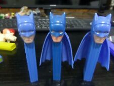 3PEZ VINTAGE RARE BATMAN DIFFERENT PRODUCTION NO FEET