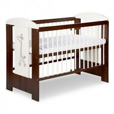 LUXURY BABY COT WOODEN BED SAFARII COLLECTION  +Option MATTRESS  and STORAGE NEW