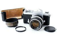 "【EXCELLENT+5】Nikon F Eye Level 35mm SLR Nikkor-S Auto 50mm f1.4 ""Rare SN"" #561"