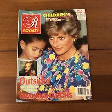 =Royalty Magazine Volume 10 No 9 June 1991 Princess Diana Children's Princess