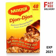 Maggi Djon Djon - Black Djondjon Mushroom 48 Cubes (one Pack) Expiration in 2021
