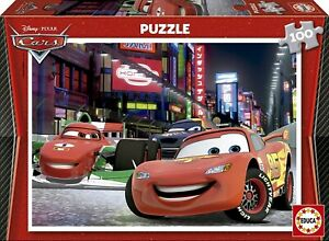 EDU14940 - Puzzle Of 100 Parts Of Drawing Animated Cars 2