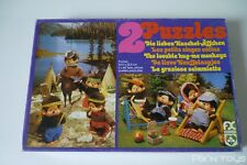 "Puzzle Kiki Monchhichi Sekiguchi Chicaboo ""Les petits singes câlins"" / Schmid"