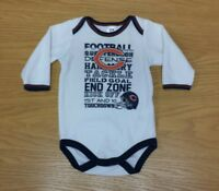 CHICAGO BEARS NFL Team Apparel One Piece Outfit Size 3-6 Months Infant 3-6M