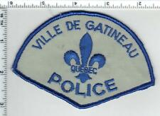 Ville De Gatineau Police (Canada) Shoulder Patch from the 1980's