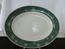 "Wedgwood ""Sterling Holiday Platter"" 14in"