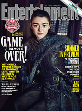 IL TRONO DI SPADE GAME OF THRONES ENTERTAINMENT WEEKLY COVER POSTER ARJA STARK