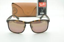 6c1a205700c Ray Ban RB4264 894 6B CHROMANCE Sunglasses Tortoise Purple Mirror Polarized