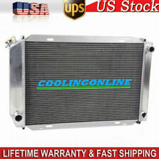 3 Row Core Aluminum Radiator For Ford Mustang  GT/LX 5.0 V8 Manual 1979-1993 92