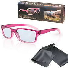 Kids 3D Glasses Pink For Children RealD Cinema Television LG Panasonic Hisense