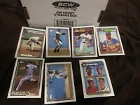 1992 Topps Baseball GOLD WINNERS 400 COUNT LOT mix of Commons and Stars and RCs