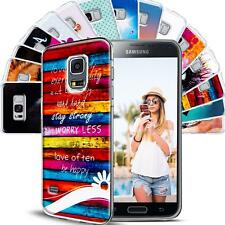 Samsung Galaxy S4 Mini Art Design Phone Soft Silicone Case Shockproof Back Cover