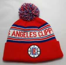 LOS ANGELES CLIPPERS beanie hat Boys 8-20 LAC red one size fits most OSFM