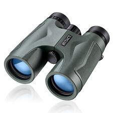 10X42 Compact Binoculars Hd for Adults Hunting Bird Watching Army Green Hutact