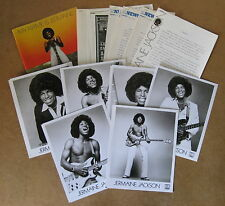 JERMAINE JACKSON My Name Is Jermaine 1976 US Promo PRESS KIT Motown MICHAEL