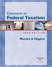 Concepts in Federal Taxation 2006 (with RIA and Turbo Tax Basic/Business)