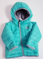 The North Face Kids Infant Mossbud Swirl Reversible Hooded Jacket! Size 3-6 M