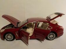 Porsche Panamera 4s, Red, 1/18 Scale Brand New, Unboxed