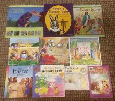Lot 10 Children's EASTER Christian Picture Books Jesus Resurrection Homeschool