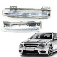 Pair Daytime Running Light DRL Fog Driving For Benz W166 ML350 X204 GLK350 CAO