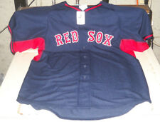 BOSTON RED SOX AUTHENTIC COLLECTION MLB MAJESTIC ALTERNATE JERSEY YOUTH XL