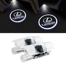 2Pcs Car Door Logo Projector LED Courtesy Lights For Lexus RX ES GX LS LX IS