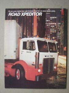 WHITE Road Xpeditor  truck - LKW   brochure / Prospekt  1975.