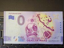 BILLET EURO SOUVENIR 2020-5 FUTUROSCOPE ANNIVERSAIRE