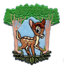 """3 X 3"""" BAMBI reindeer forest white tail deer Disney IRON ON SEW ON PATCH"""