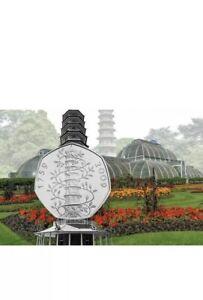 Rare KEW Gardens 50p. UK 50p BUNC Coin Set Rare Coin