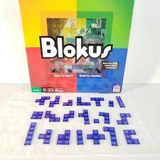 2013 Mattel BLOKUS Complete Set Of 21 BLUE Replacement Tile Pieces