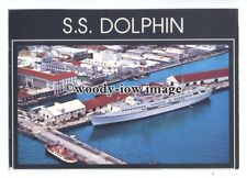 LN0377 - Cruise Liner - Dolphin in Nassau Harbour - postcard